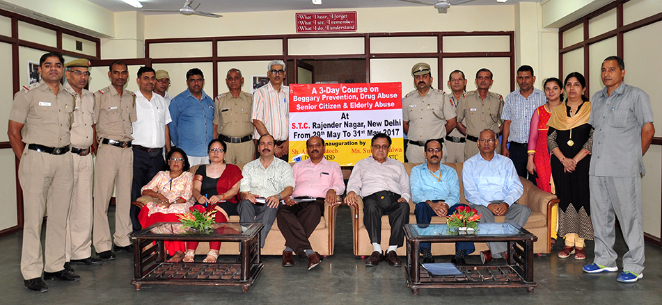 Three Days Training Program on Social Defence Issues for Police Functionaries at New Delhi
