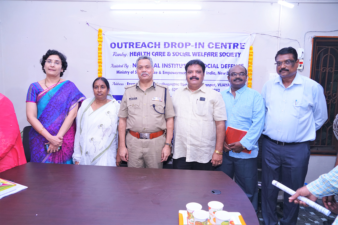 Outreach and Drop-In-Centre launched in Vijayawada on Nov 6, 2019